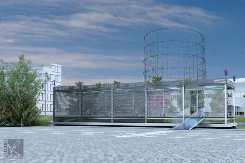 Progetto di ricovero e locazione biciclette elettriche