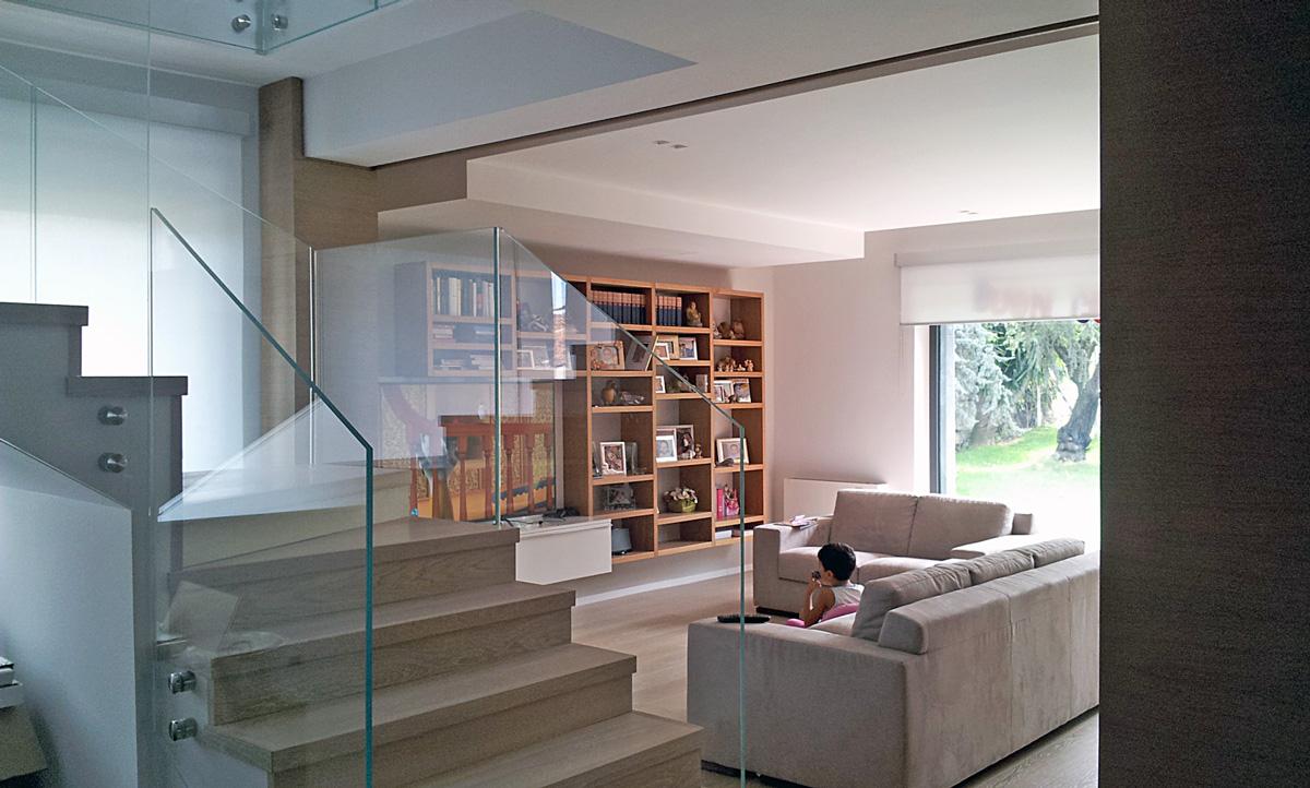 vista-soggiorno-scala   ArchSIDE
