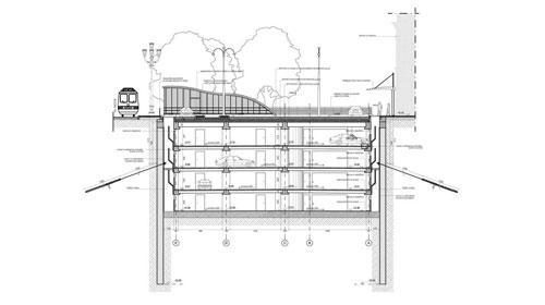 """TORINO P. N."" RAILWAY STATION"