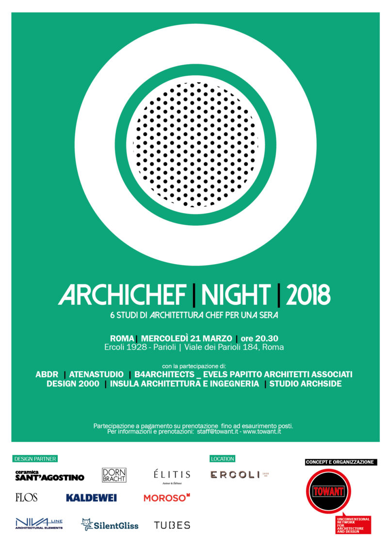 ARCHICHEF NIGHT 2018