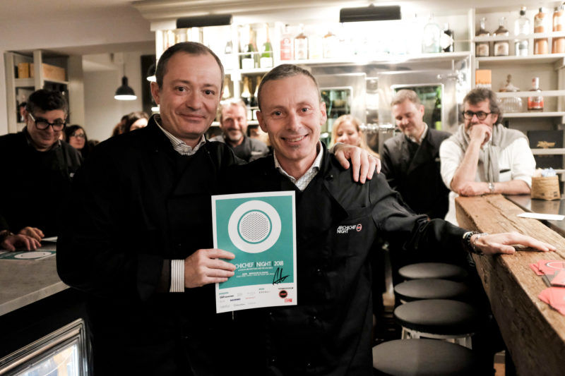 "ARCHICHEF NIGHT 2018 – ArchSIDE premiati con ""best dish press award"""