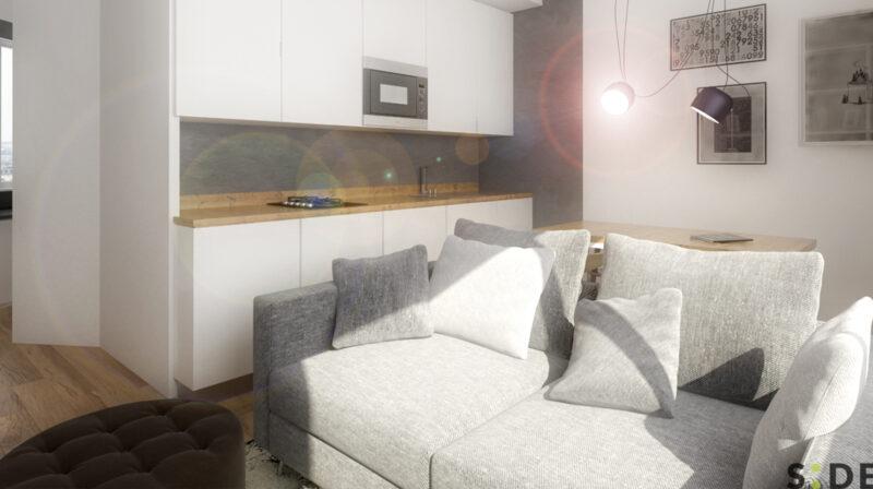 Appartamento 33 mq.